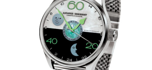 24-Stunden-Uhr Alexander Shorokhoff Uhren